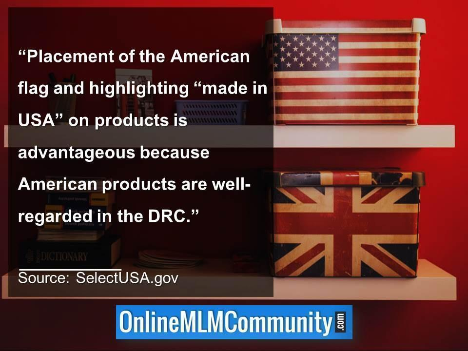 Highlighting made in USA on products is advantageous