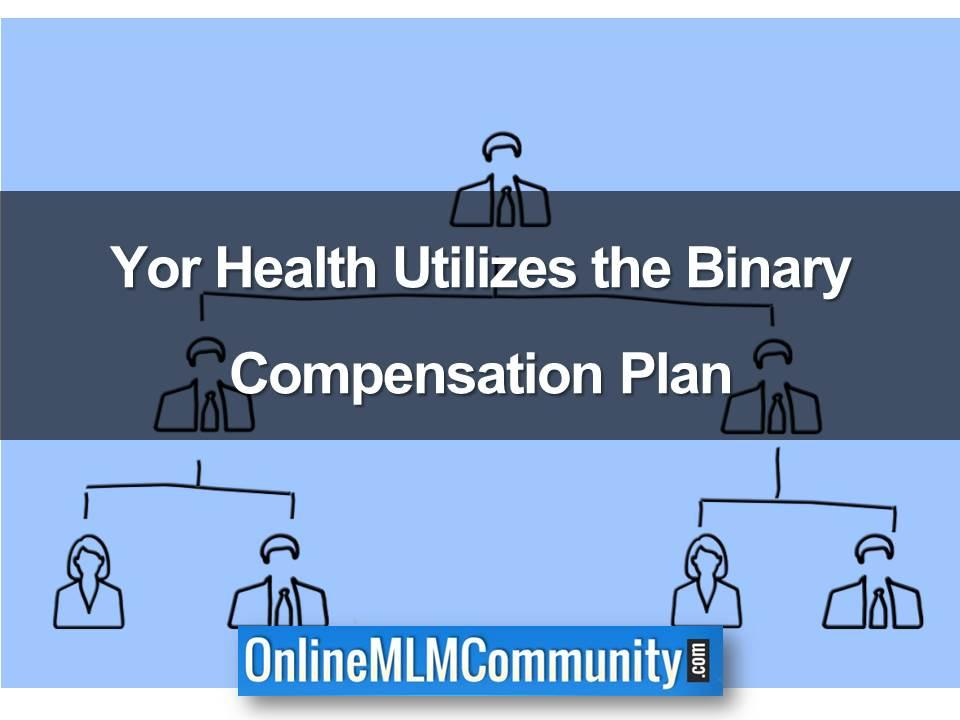 Yor Health Utilizes the Binary Compensation Plan