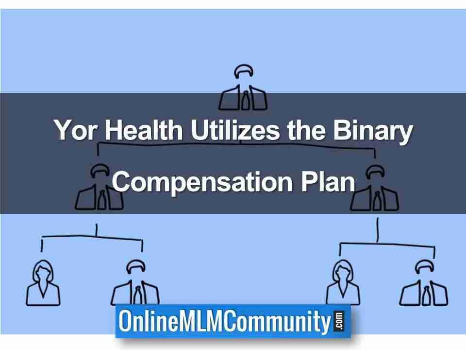 Yor Health Utilizes the Binary Compensation Plan