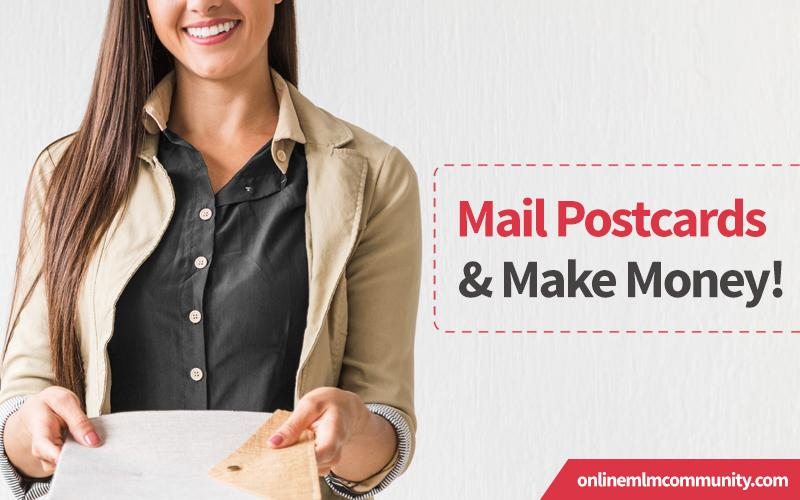 mail postcards and make money