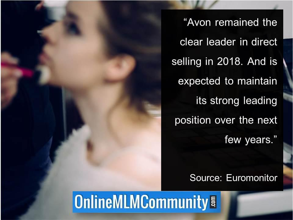 Avon remained the clear leader in direct selling in 2018 in Romania
