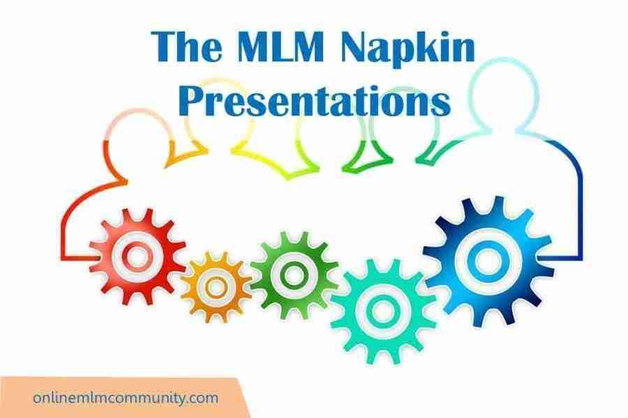 MLM Napkin Presentations