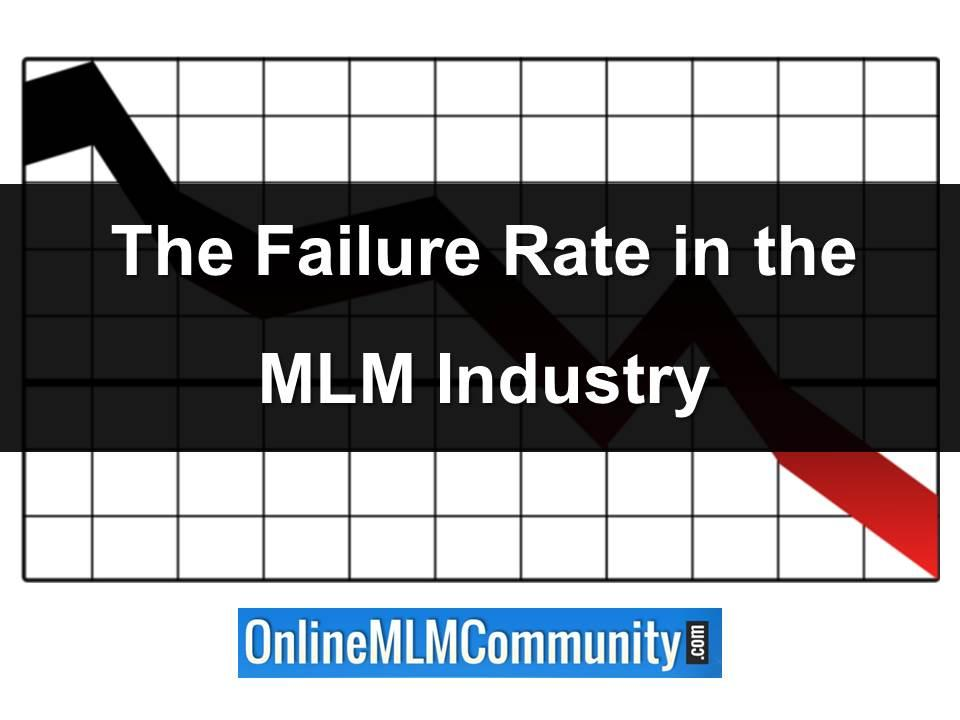 failure rate in the mlm industry