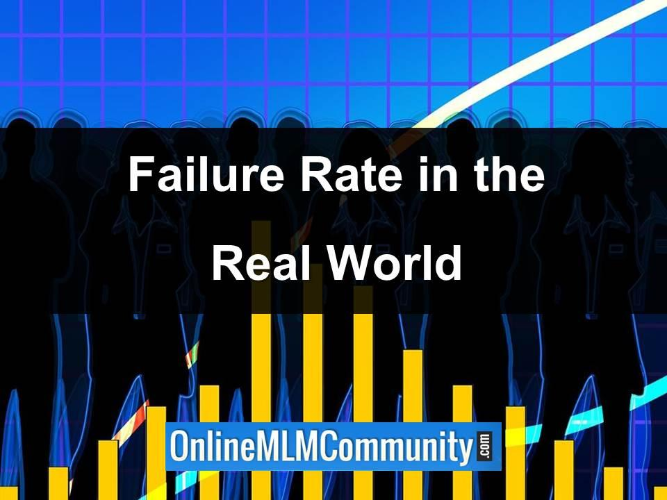 failure rate in the real world