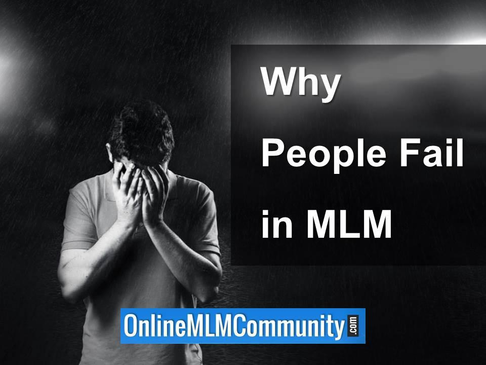 why people fail in mlm