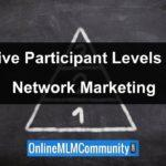 The Five Participation Levels in Network Marketing