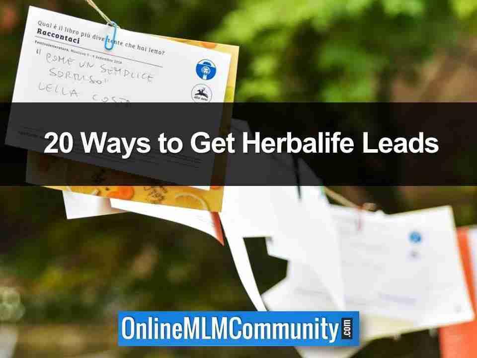Herbalife Leads