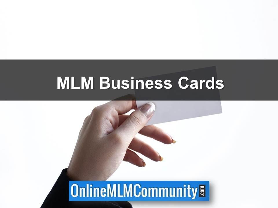 MLM Business Cards