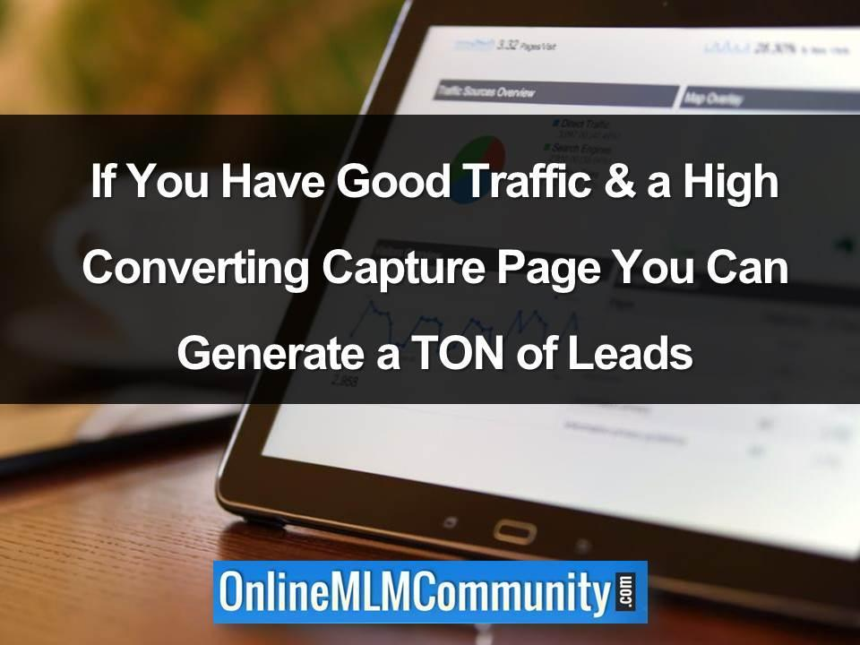 Generate a Ton of Leads