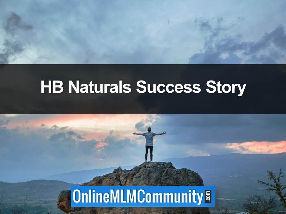 HB Naturals Success Story