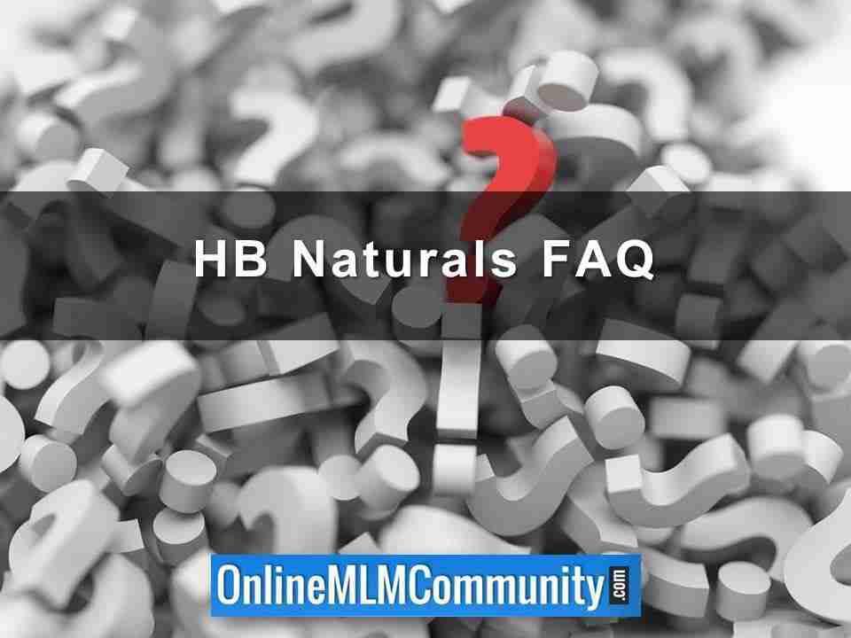 HB Naturals FAQ