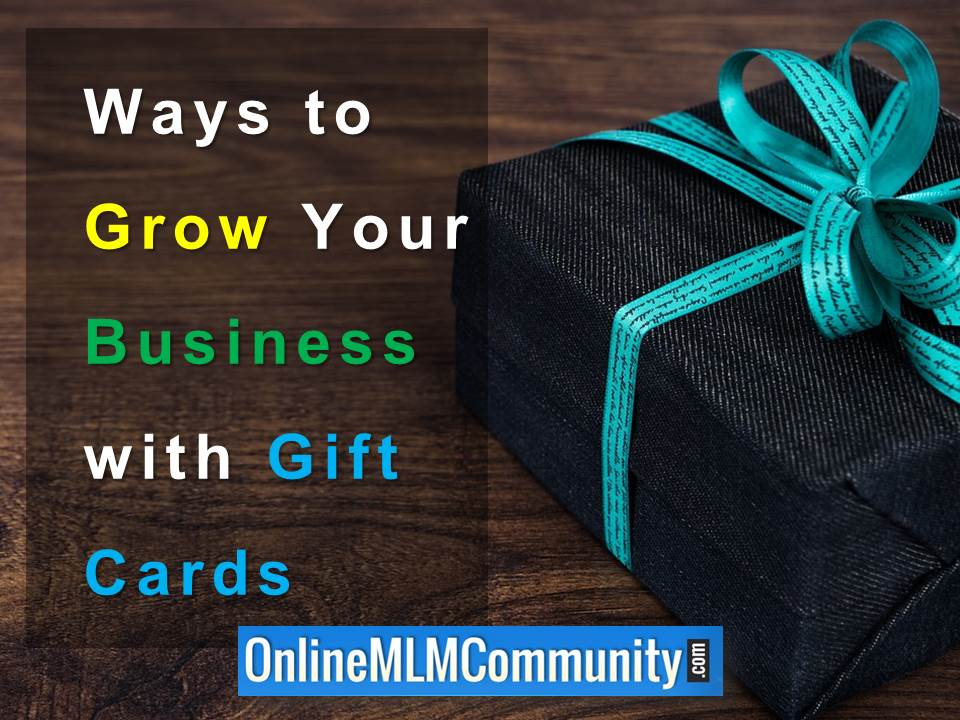 Ways to Grow Your Business with Gift Cards