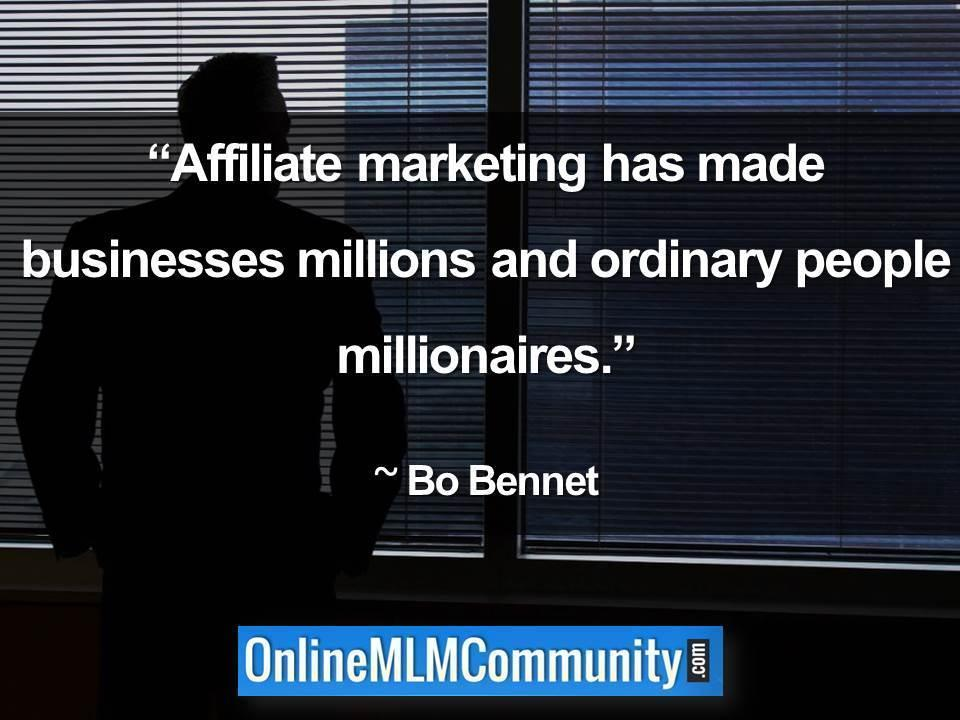 affiliate marketing millionaires