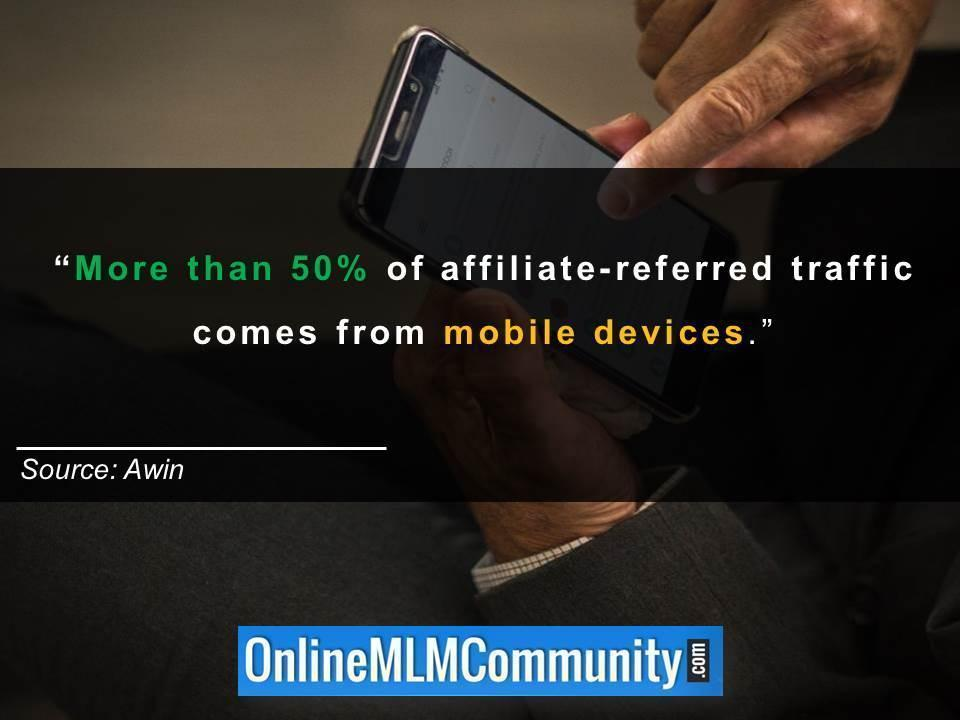 mobile traffic affiliate marketing