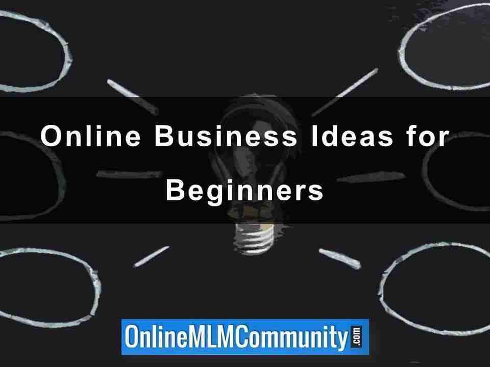 Online Business Ideas for Beginners