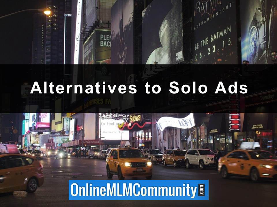 Alternatives to Solo Ads