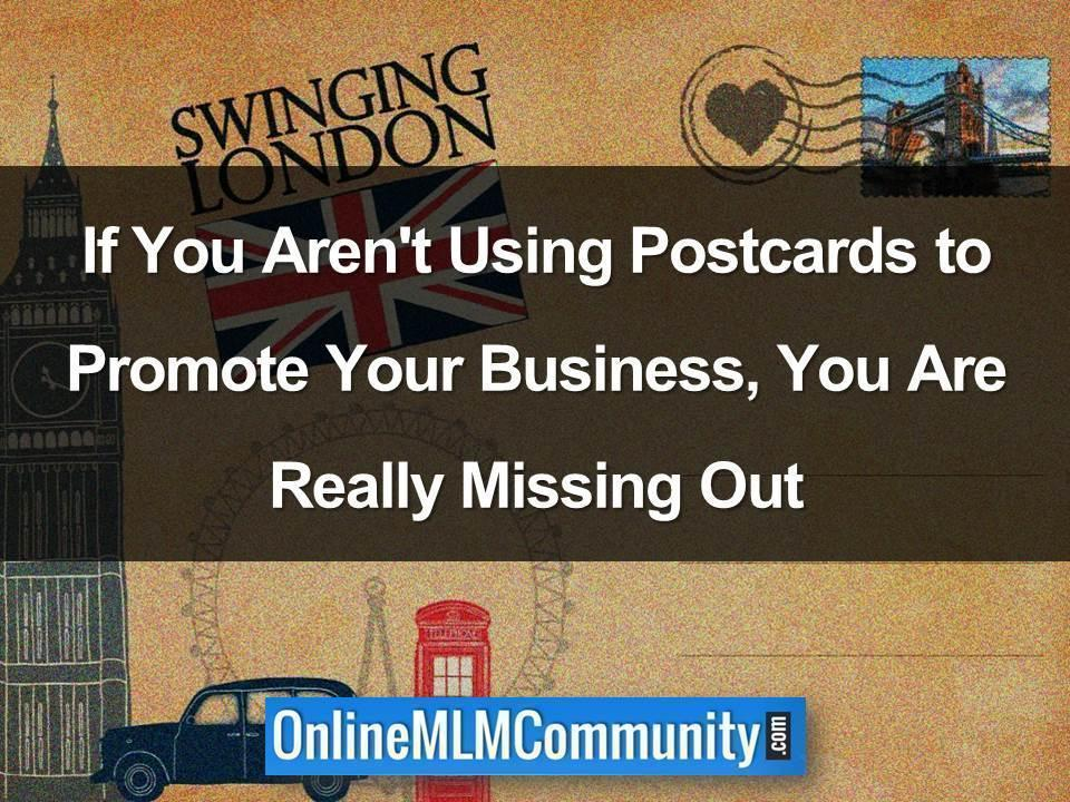 Using Postcards to Promote Your Business
