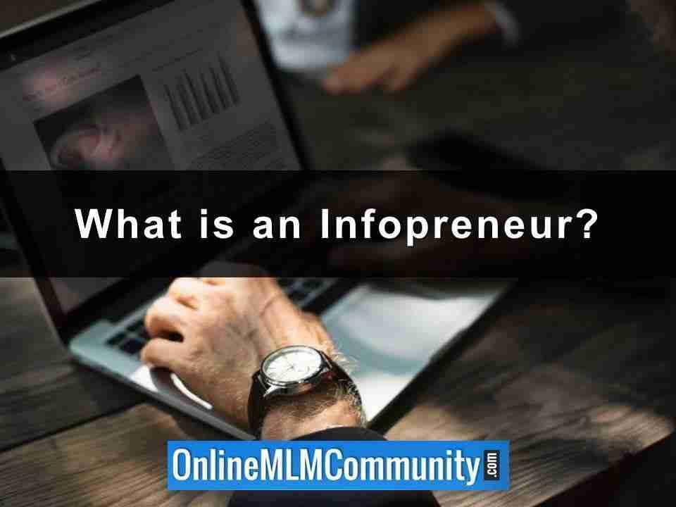 What is an Infopreneur