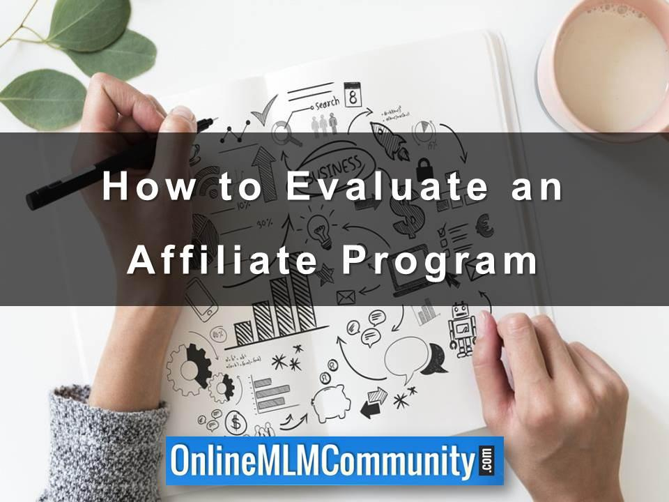 How to Evaluate an Affiliate Program