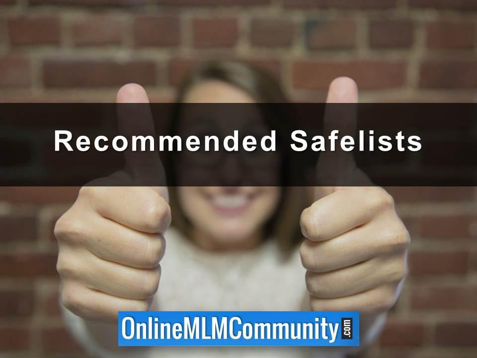 Recommended Safelists