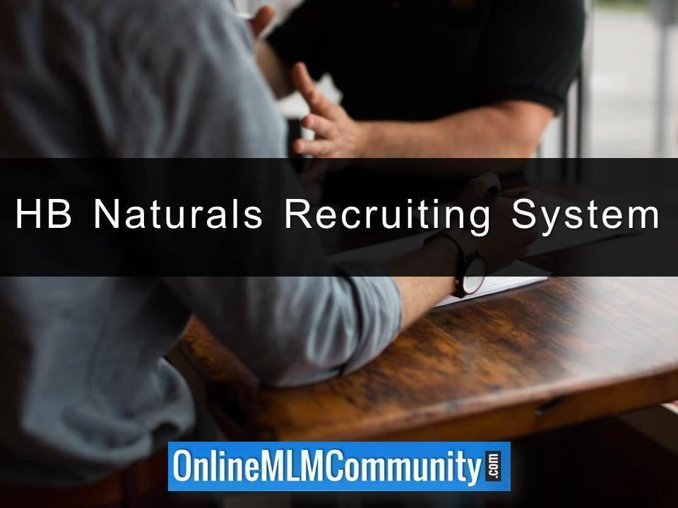 HB Naturals Recruiting System