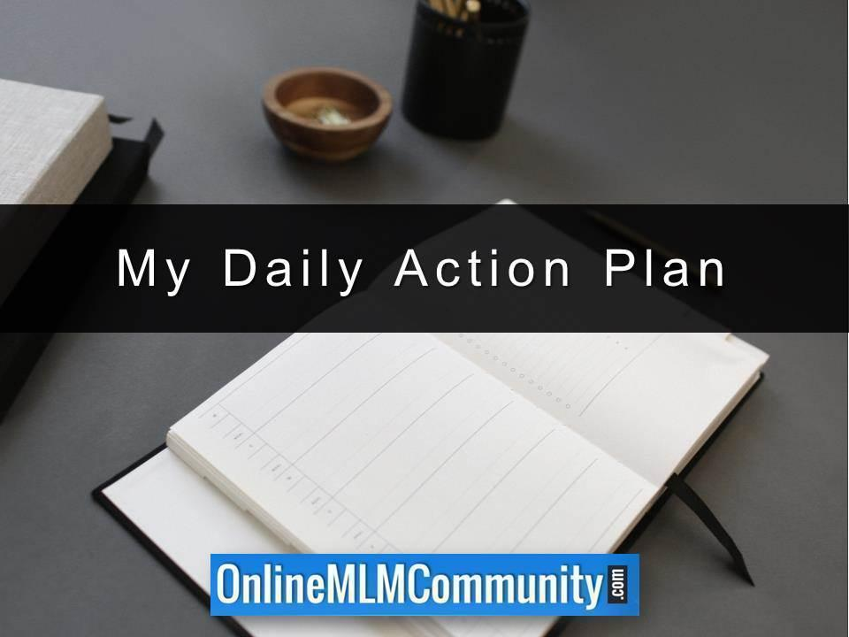 My Daily Action Plan