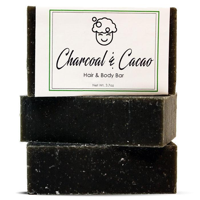 Charcoal & Cocao Hair & Body Bar