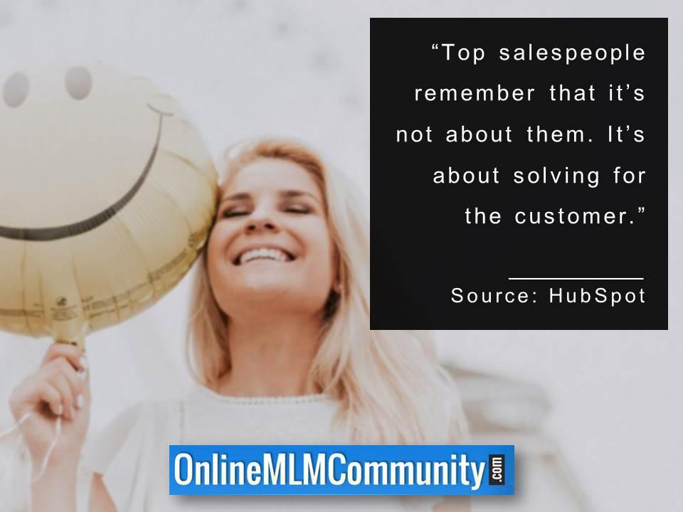 Its about solving for the customer