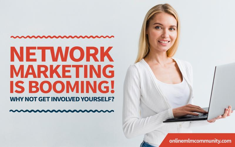 network marketing is booming