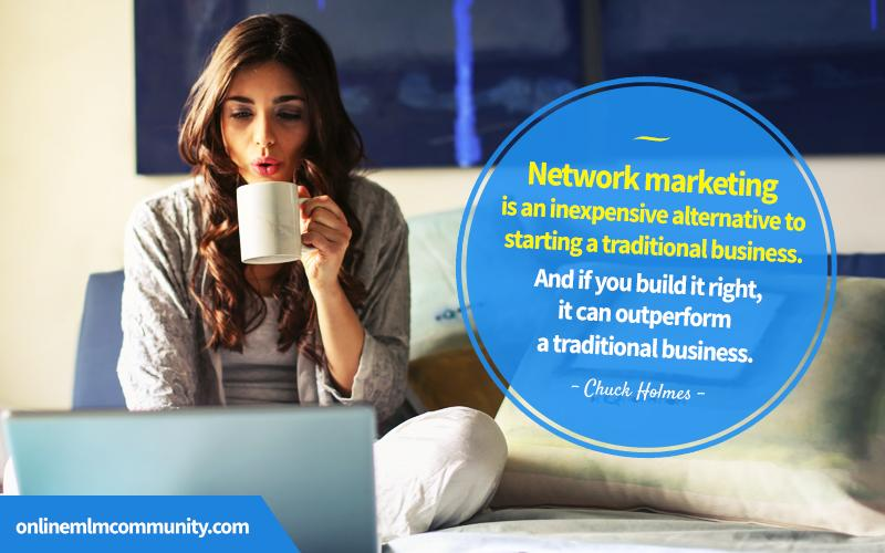 network marketing is inexpensive