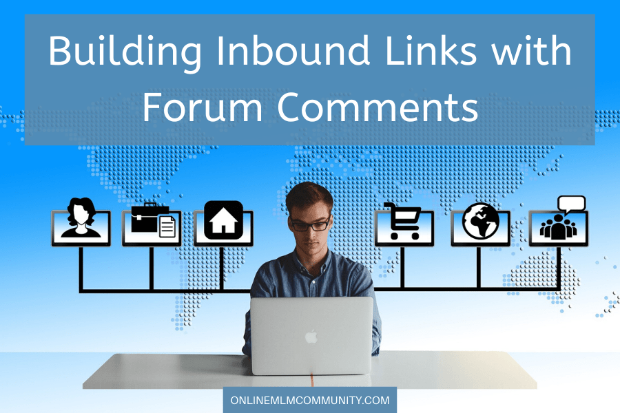 building inbound links with online forums