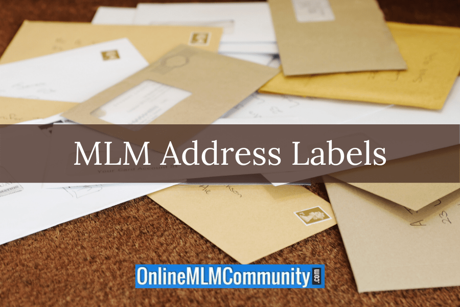 MLM Address Labels