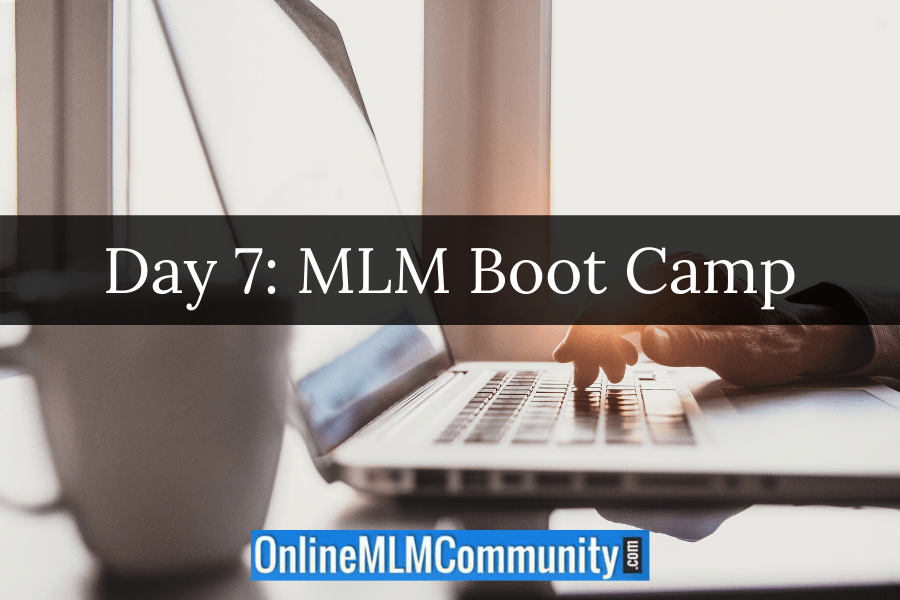 Day 7: MLM Boot Camp