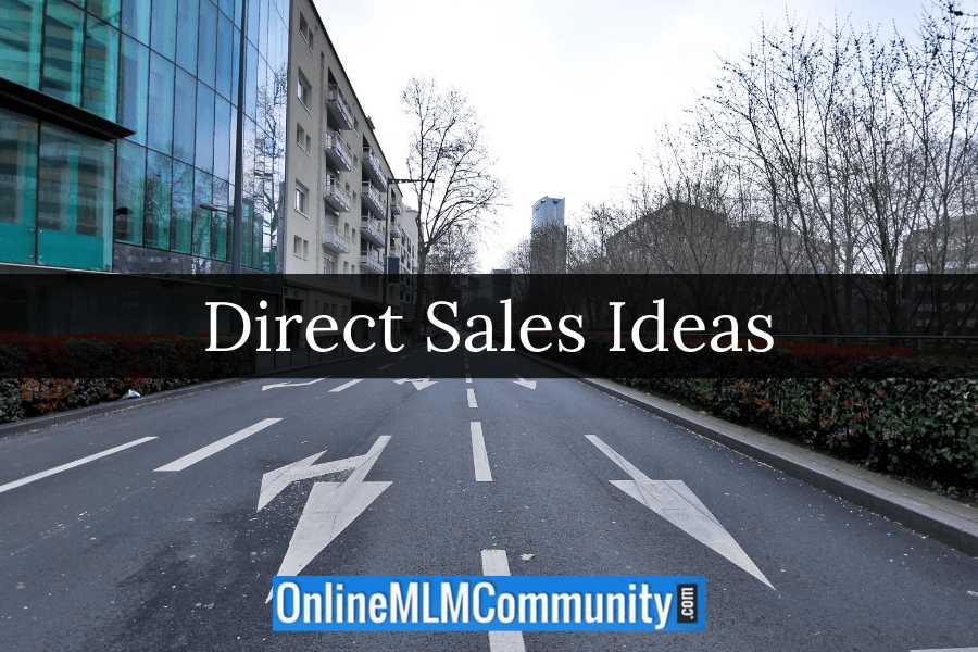 direct sales ideas