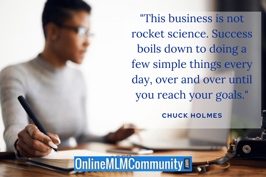 mlm is not rocket science