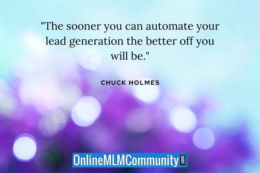 automate your lead generation