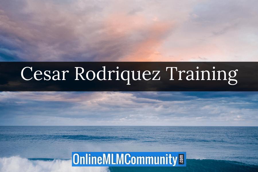 Cesar Rodriquez Training