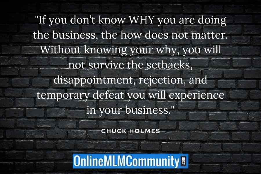 your why in mlm