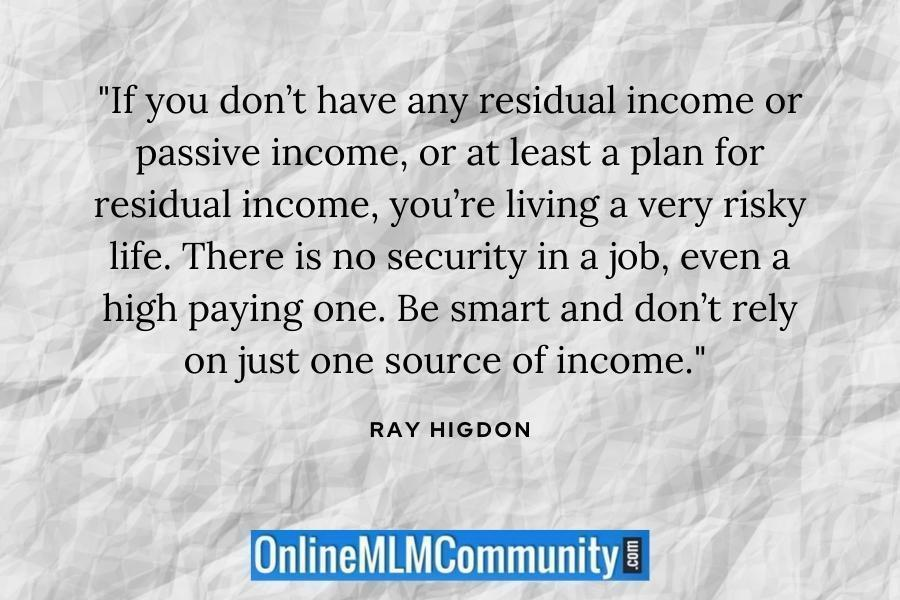 ray higdon passive income
