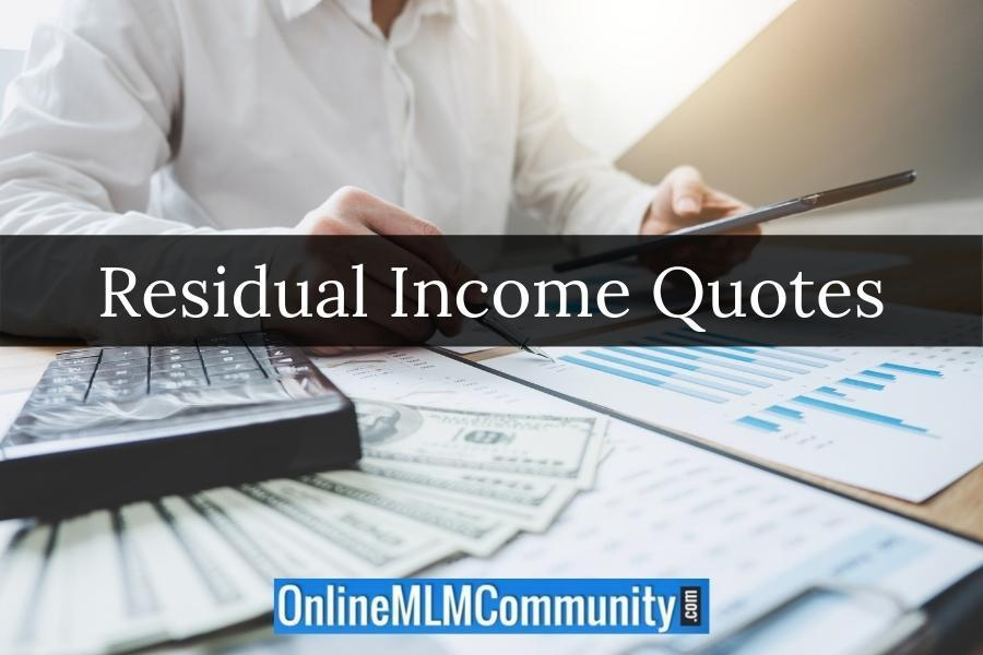 Residual Income Quotes