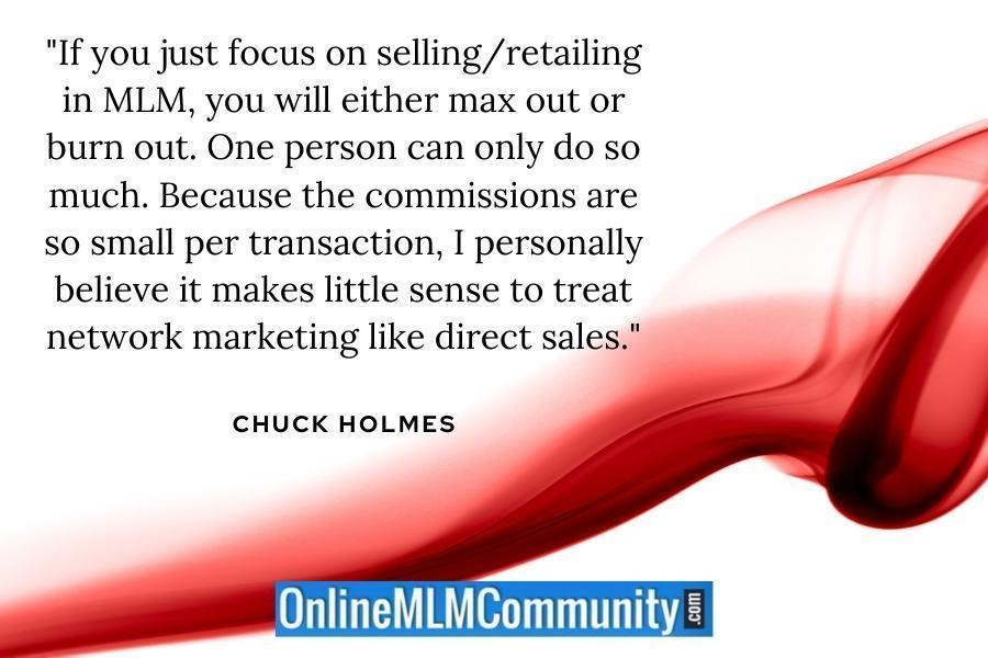selling in mlm