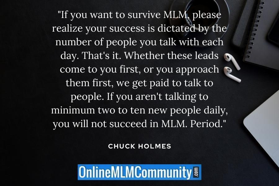 survive in mlm