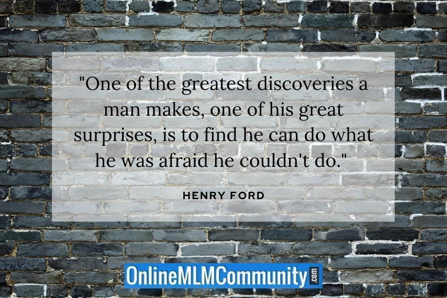 henry ford fear quote