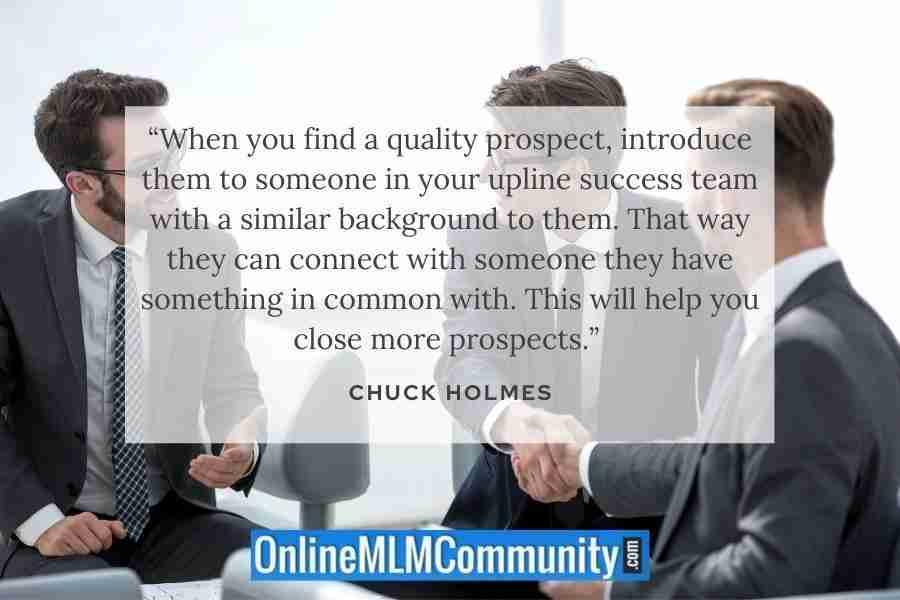 quality mlm prospect