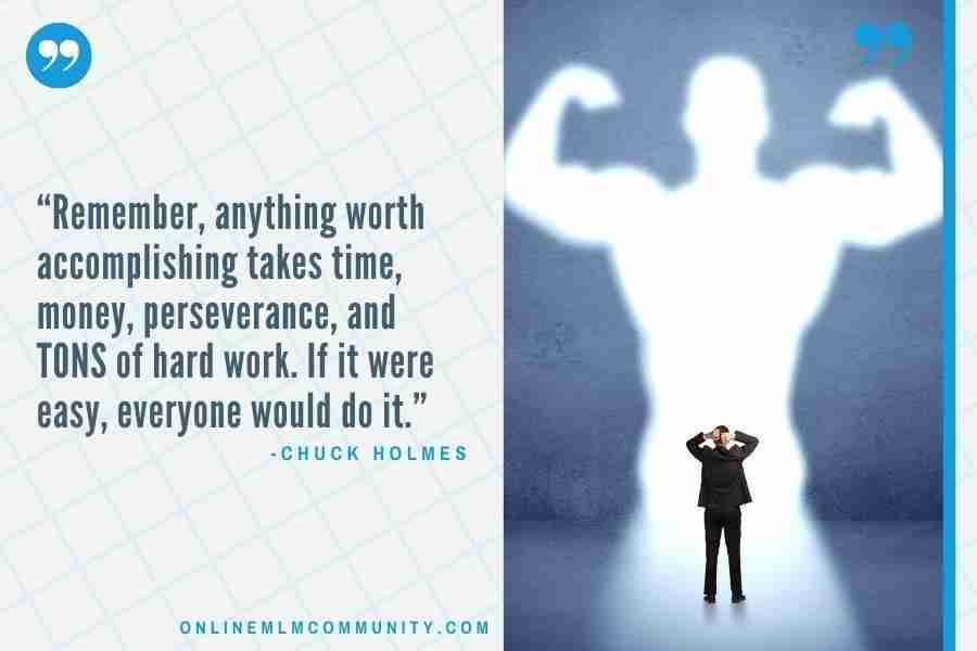 anything worth accomplishing takes time