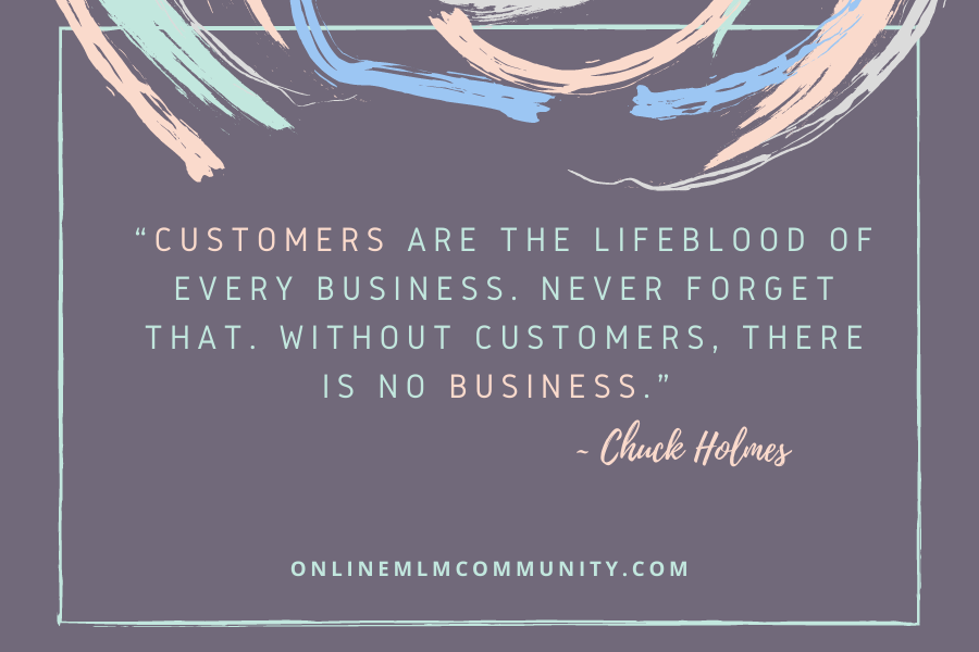 customers are important